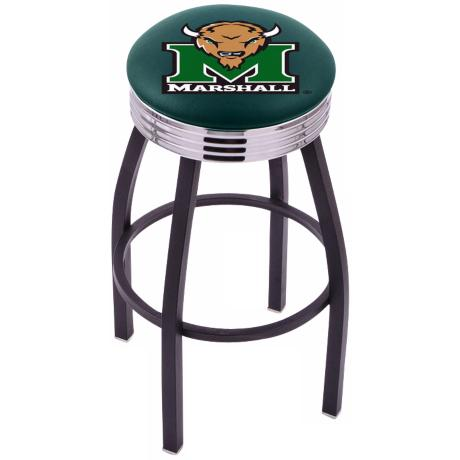 Retro Marshall University Counter Stool