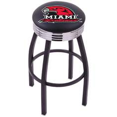 Retro Miami University Counter Stool