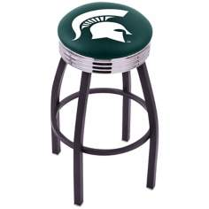 Retro Michigan State University Counter Stool
