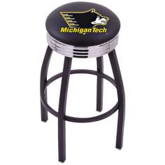 Retro Michigan Tech Barstool