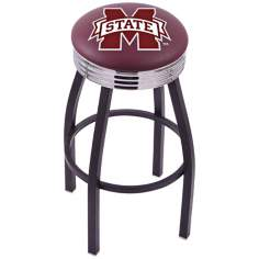 Retro Mississippi State University Barstool