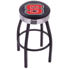Retro North Carolina State University Counter Stool