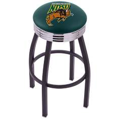 Retro North Dakota State University Counter Stool