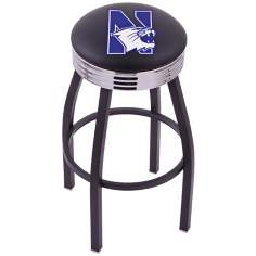 Retro Northwestern University Barstool