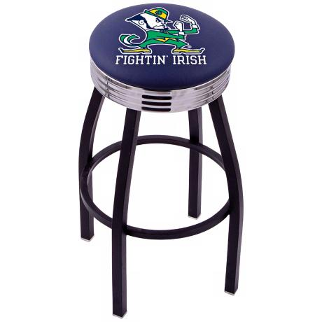Retro Notre Dame Fighting Irish Counter Stool