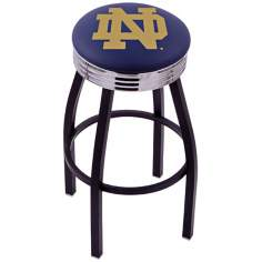 Retro University of Notre Dame Counter Stool