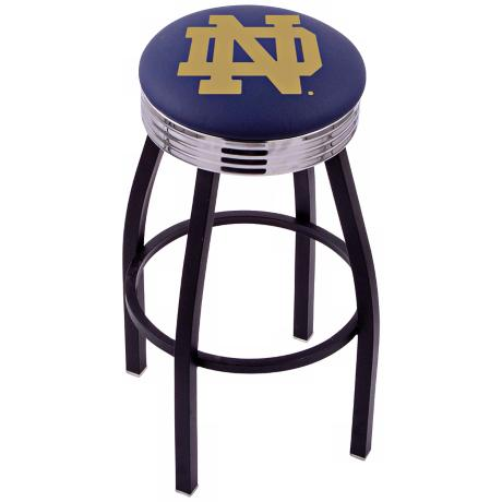 Retro University of Notre Dame Barstool