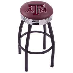 Retro Texas A&M University Counter Stool