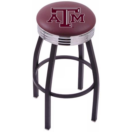 Retro Texas A&M University Barstool