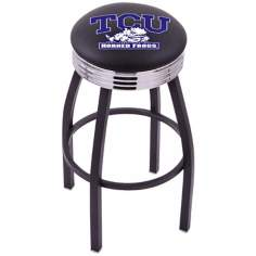 Retro Texas Christian University Barstool