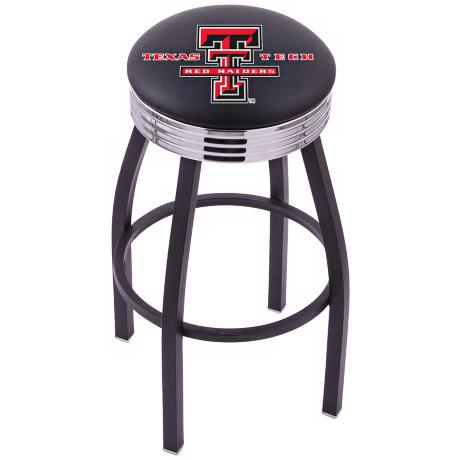 Retro Texas Tech University Barstool