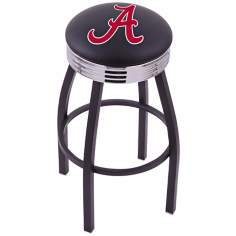 Retro University of Alabama Script Barstool