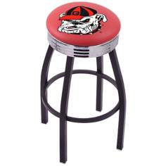 University of Georgia Bulldogs Retro Counter Stool
