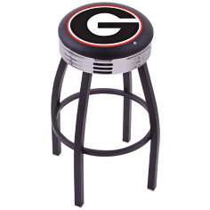 Retro University of Georgia Barstool
