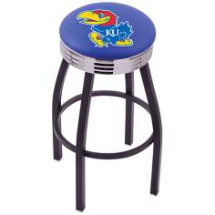 Retro University of Kansas Counter Stool
