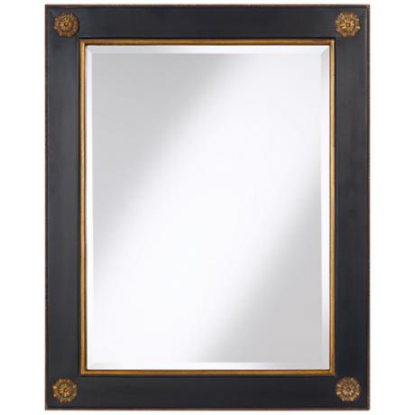 "St. Albans 30"" High Medallion Wall Mirror"