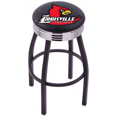 Retro University of Louisville Barstool