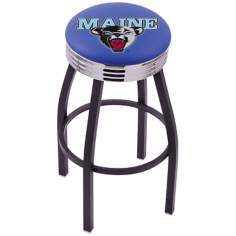 Retro University of Maine Counter Stool