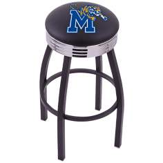 Retro University of Memphis Barstool