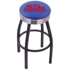 Retro University of Mississippi Counter Stool