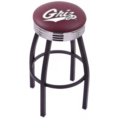 Retro University of Montana Counter Stool