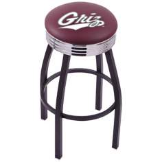 Retro University of Montana Barstool