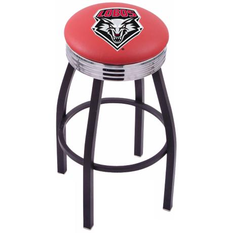 Retro University of New Mexico Counter Stool