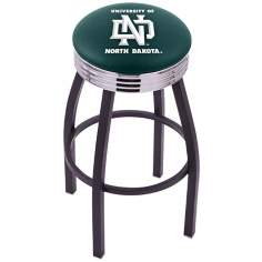 Retro University of North Dakota Counter Stool