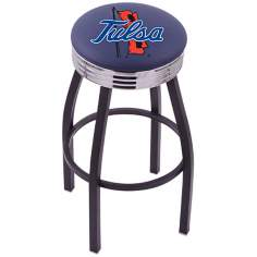 Retro University of Tulsa Counter Stool