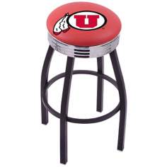 Retro University of Utah Barstool