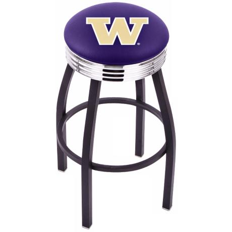 Retro University of Washington Counter Stool