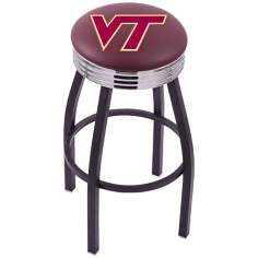 Retro Virginia Tech Counter Stool