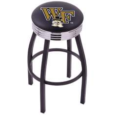 Retro Wake Forest University Counter Stool