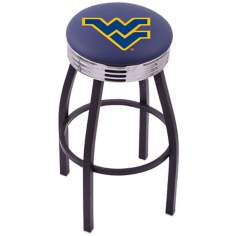 Retro West Virginia University Counter Stool