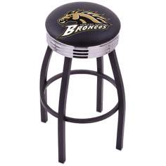 Retro Western Michigan University Counter Stool