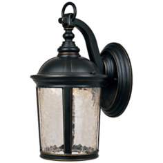 "Winston Aged Bronze 13 3/4"" High LED Outdoor Wall Light"