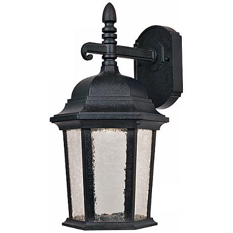 "Abbington Driftwood 12 1/4"" High LED Outdoor Wall Light"