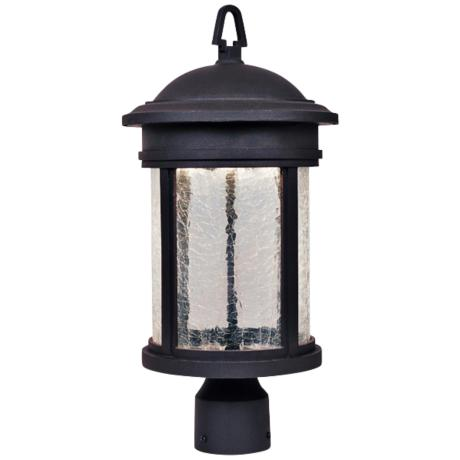 "Prado Oil-Rubbed Bronze 18 1/2"" High LED Outdoor Post Light"