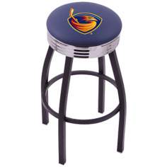 Retro Atlanta Thrashers Hockey Sports Bar Stool