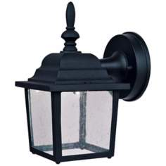 "Hawthorne Black 10 1/2"" High LED Outdoor Wall Light"