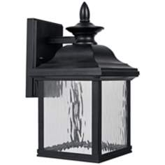 "Bedford Natural Iron 13 1/2"" High LED Outdoor Wall Light"