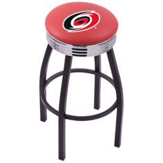 Retro Hockey Carolina Hurricanes Counter Stool