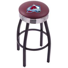 Retro Hockey Colorado Avalanche Counter Stool