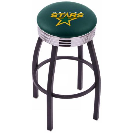 Retro Hockey Dallas Stars Counter Stool