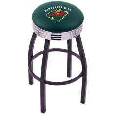 Retro Hockey Minnesota Wild Counter Stool