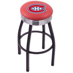 Retro Montreal Canadiens Hockey Sports Bar Stool