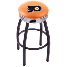 Retro Hockey Philadelphia Flyers Orange Counter Stool