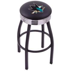 Retro Hockey San Jose Sharks Barstool