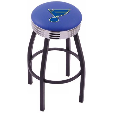 Retro Hockey St Louis Blues Counter Stool