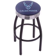 Retro United States Air Force Barstool